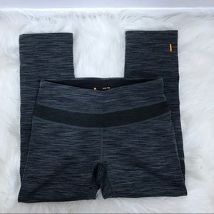 Lucy XS Gray Stretch Cropped Active Legging